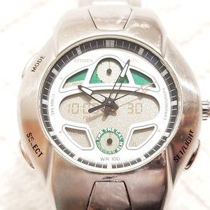 Vintage Citizen Promaster Chronograph Alarm Watch